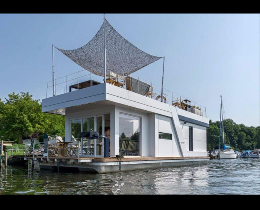 h loft das hausboot in berlin. Black Bedroom Furniture Sets. Home Design Ideas