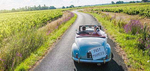 Hochzeitsauto für Berliner Hochzeiten