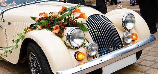 Kosten Hochzeitsgefährt - Hochzeitsauto Berlin