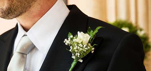Krawatte Bräutigam - Heirat Berlin