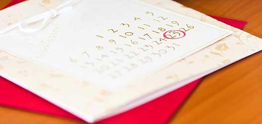 Checkliste Heirat - 3 Monate bis zur Hochzeit