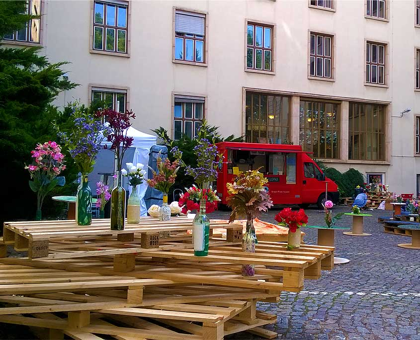 Il viandante streetfood 01 catering hochzeit berlin - Party deko berlin ...