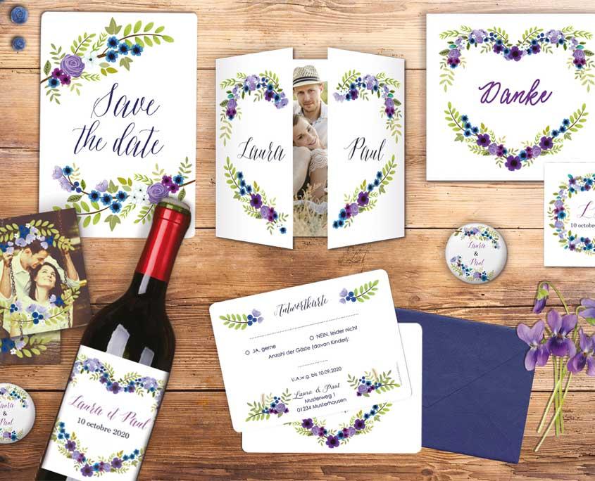 Einladungskarten Papeterie Fur Ihre Hochzeit In Berlin