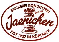 Konditorei Jaenichen Hochzeitstorte Berlin Logo